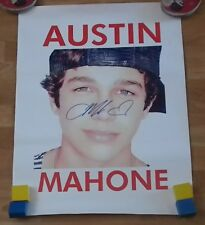 AUSTIN MAHONE 'SAY SOMETHING' 11:11 SIGNED POSTER