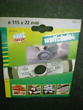 Wolfcraft  Diamant-Trennscheibe Classic 115x22 mm f. Winkelschleifer 1607000