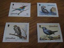 GIBRALTAR 1988  Birds SG 596-599 mnh