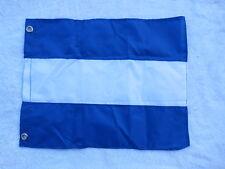 12 X 15+1/2 NYLON FLAG YACHT CLUB SAILBOAT SHIP BOAT SIGNAL (#2728)