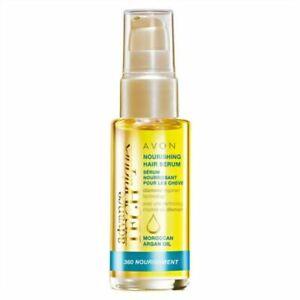 Avon Advance Techniques ~360 Nourishment Hair Serum with Moroccan Argan Oil 30ml