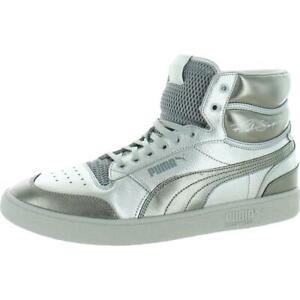Puma Mens Ralph Sampson Mid Cloud Lifestyle Mid-Top Sneakers Athletic BHFO 9473