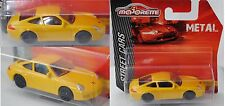 Majorette 212053050 Porsche 911 Carrera gelb Felgen schwarz 1:59 Street Cars