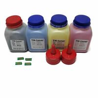4 Toner Refill + Chips For Xerox Phaser 6020 6022 Workcentre 6025 6027 106R02763
