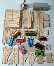 THOMAS & FRIENDS WOODEN TRAIN SET. (all Thomas items), Track, Trains & Accessori