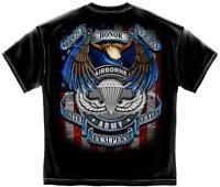 Erazor Bits T-Shirt United States Army Air Borne Nex Superne - Black