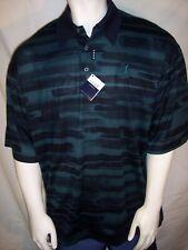 NEW Como Sport XL Navy/Green Cotton Golf Shirt Italy - TPC Sawgrass Logo