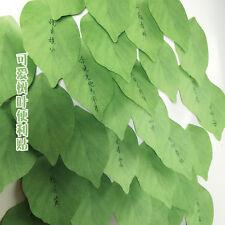 Cute Vivid leaf lifelike Leaves Self-Adhesive Memo Pad Sticky Note 2017