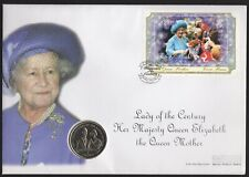 More details for 1999 isle of man queen elizabeth crown large fdc no issue number |pennies2pounds