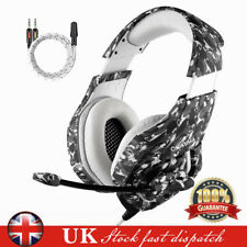 3.5mm Gaming Headset MIC Camouflage Headphones for PC Mac Laptop PS4 Xbox One