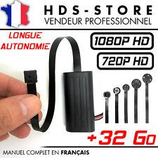 MODULE CAMERA ESPION MT186 FULL HD 1080P + MICRO SD 32 GO BOUTON VIS DETECTION