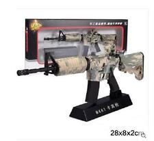 M4A1 Sniper Rifle Display model, scale 1/3 (L=28cm), Metal and plastic, Camo B