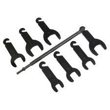 Lisle 43300 Pneumatic Fan Clutch Wrench Set 8 Piece