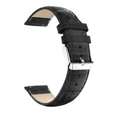 For Fossil Q Founder / Q Wander / Q Marshall Strap Crocodile Leather Watch Band