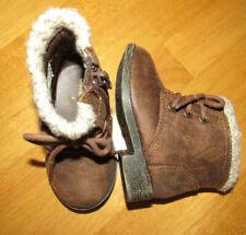 Garanimals brown boots, side zip closure, Infants size 4