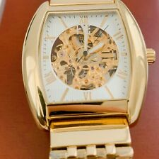 Auguste Galan Mens Gold Watch.