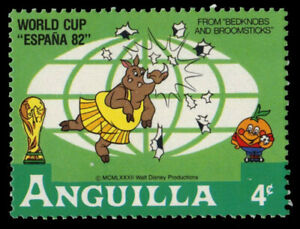 ANGUILLA 494 (SG522) - Disney Espana '82 World Cup Football (pf84722)