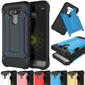Shockproof Rugged Hybrid Armor Rubber Phone Case Cover For LG G5 G6 V40 G8 ThinQ