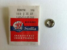1 RESSORT MONTRE GALLIA pour ZENITH ref 106 140J35AT  1.40x9-0,09-350