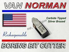 """VAN NORMAN BORING BAR MICROMETER FOR 944 944S 2.200/"""" to 4.200/"""" CARBIDE ANVIL"""