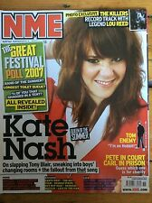 NME 8/9/07 Kate Nash cover, Hard-Fi