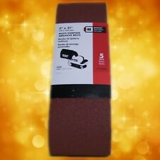 "Porter Cable 713100805 3"" x 21"" 80 Grit Multi-Purpose Sanding Belt"