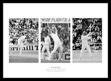 Ian Botham England Cricket Legend Triple Photo Memorabilia (TH3)