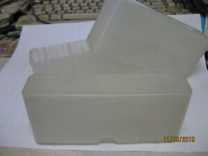 Excell Large Small Rifle Pistol Yellow Flambeau Kasnar Ammo Boxes storage trays