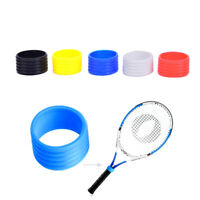 5Pcs/set Racket Handle Rubber Ring Stretchy Tennis Racquet Band Overgrips HO