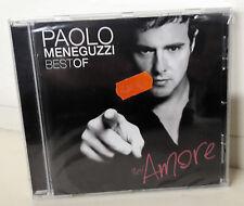 Paolo Meneguzzi Sei Amore Best Of  Cd Nuovo Sigillato