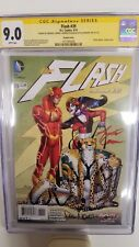 The Flash #39 SS CGC 9.0 Auto. Conner, Dalhouse And Mounts. The New 52 4/15