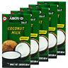 5 x Aroy-D Kokosmilch 500ml Kokosnussmilch Coconut Milk cremig ideal zum Kochen