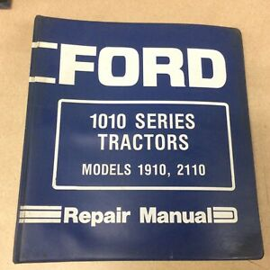 FORD New Holland 1910 2110 TRACTOR SERVICE SHOP REPAIR MANUAL BOOK GUIDE SE4370
