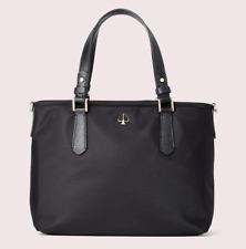 Kate Spade taylor small crossbody tote Nylon Satchel ~NWT~ Black