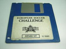 EUROPEAN SOCCER CHALLENGE GAME FOR THE ATARI ST ON FLOPPY DISC