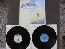 GENESIS We Can't Dance MISPRESSED 2 LP / 2 Vinyl 1st Pressing 1991 UK like NEW!