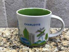 Starbucks 2014 Charlotte You Are Here Collection Mug Original New