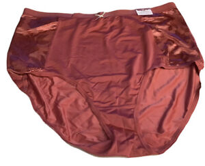 NWT CACIQUE NO SHOW HIGH WAIST  BRIEF A DARKER BLUSH COLOR SIZE 18/20