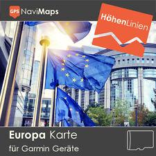 Topo Karte EUROPA Deutschland Frankreich Schweiz Garmin Etrex GPSMap Edge Oregon