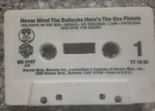 Sex Pistols Never Mind The Bollocks (**CASSETTE ONLY NO INSERT/INLAY**)