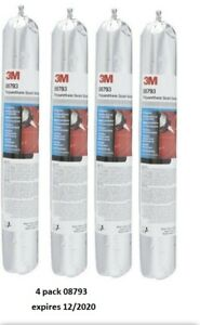 3M 4 X polyurethane seam sealer 08793 600 ml sachet black Pack of 4