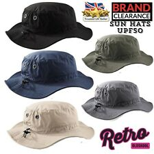2e0bf6c8923 Cargo Bucket UPF50+ Sun Hat Retro Mens Safari Bush Walking Fishing