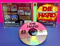 Die Hard Trilogy -  Playstation 1 2 PS1 PS2 Game Complete Tested Works Rare
