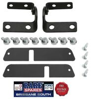 HOLDEN TORANA LX UC REAR HATCH HINGE KIT WITH COVERS & BOLTS SS A9X