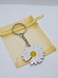 Daisy Keyring, daisy gifts, flowers, daisy lover, summer charm
