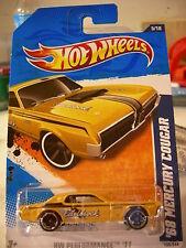 Hot Wheels '68 Mercury Cougar HW Performance Edelbrock Yellow