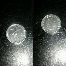 Italia piccola Moneta Repubblica del 1995 50 lire