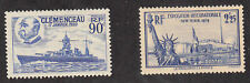 France - 1939 - SC 371-2 - H - 372 small hinge thin