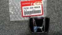 Genuine Honda S2000 Rear Emblem H Black Genuine 75701-S2A-000ZB Badge