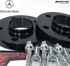 2 Pc BLACK ANODIZED MERCEDES SLK HUB CENTRIC Wheel Spacer 20mm Thick
